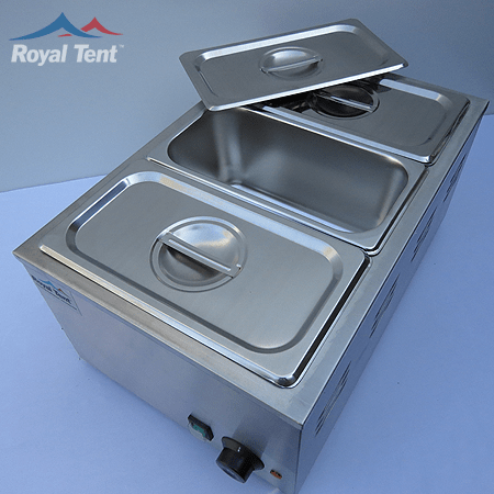 Electric Bain Marie – 3 Division