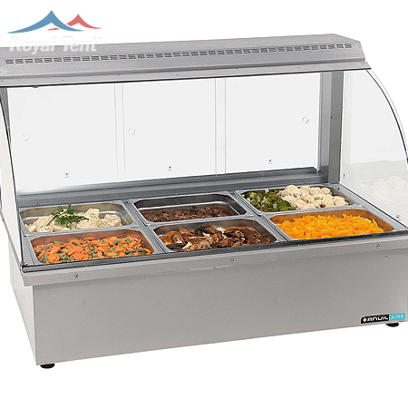 Electric Bain Marie – 6 Division