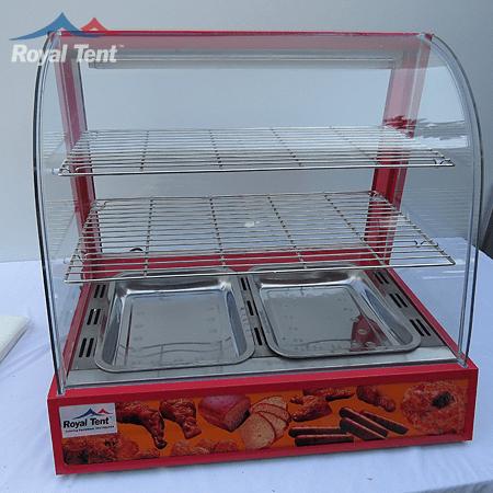 Electric Curved Glass Warmer – Medium