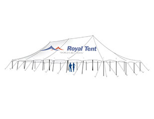 Peg and pole stretch tents for sale