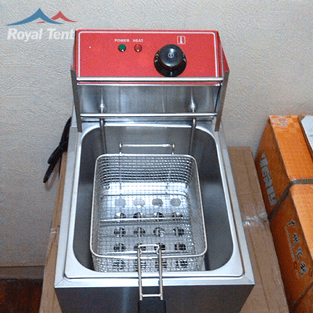 Electric 1x Tank Deep Fryer