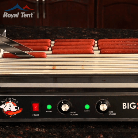 7x Rolling Hot Dog Machine